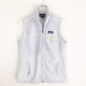 Patagonia Icy Blue Snap Pocket Vest Medium